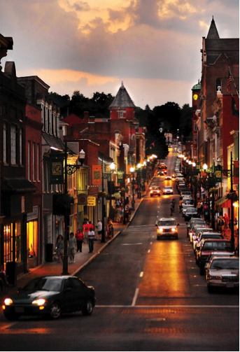Main Street, Staunton, Virginia
